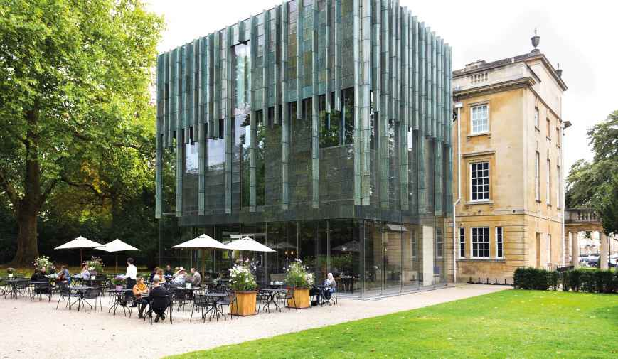 Holburne Museum Garden Café | Outside spaces | Benugo