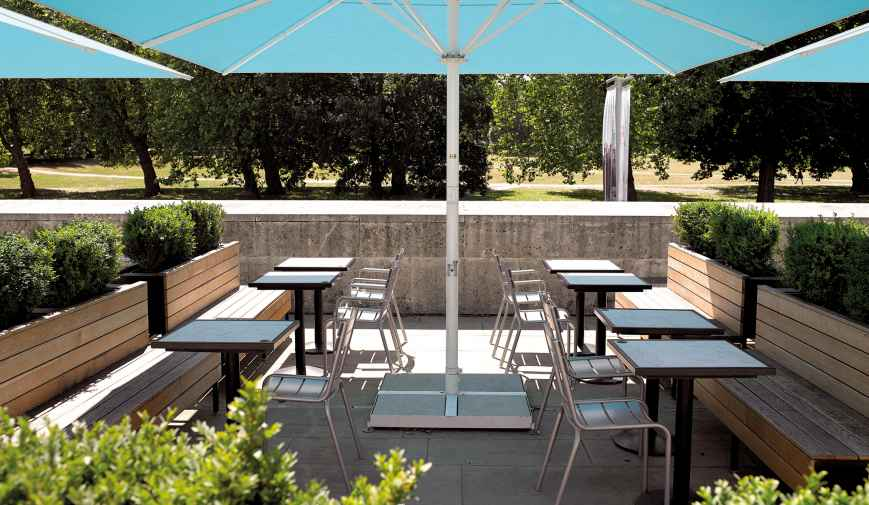 Parkside Café & Terrace | Outside spaces | Benugo